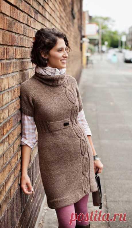 Платье из твида (Allegheny By Brooklyn Tweed ) Источник pinterest