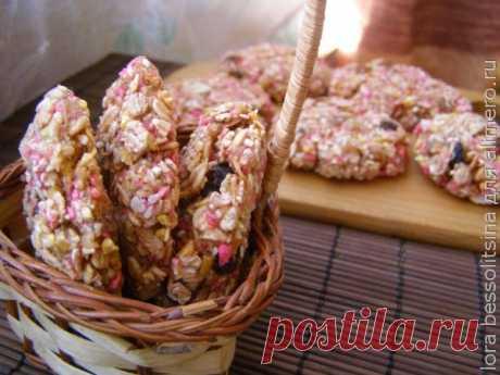 Постное овсяное печенье / Рецепты с фото