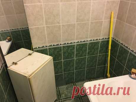 Из убитой ванной и туалета семейная пара сделала «конфетки» своими руками. Фото До/После