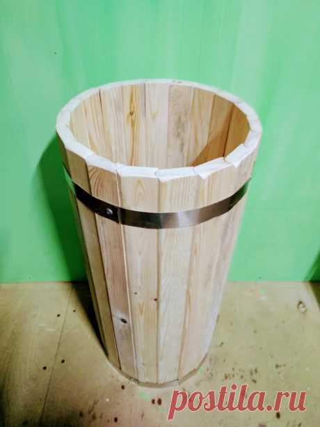 Изготовление декоративной кадки из дерева с помощью ручного фрезера. | pahasever | Яндекс Дзен