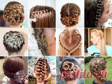 Детские прически на длинные волосы (44 фото): видео-инструкция как сделать красивую укладку на свадьбу или в школу для девочек своими руками, фото и цена