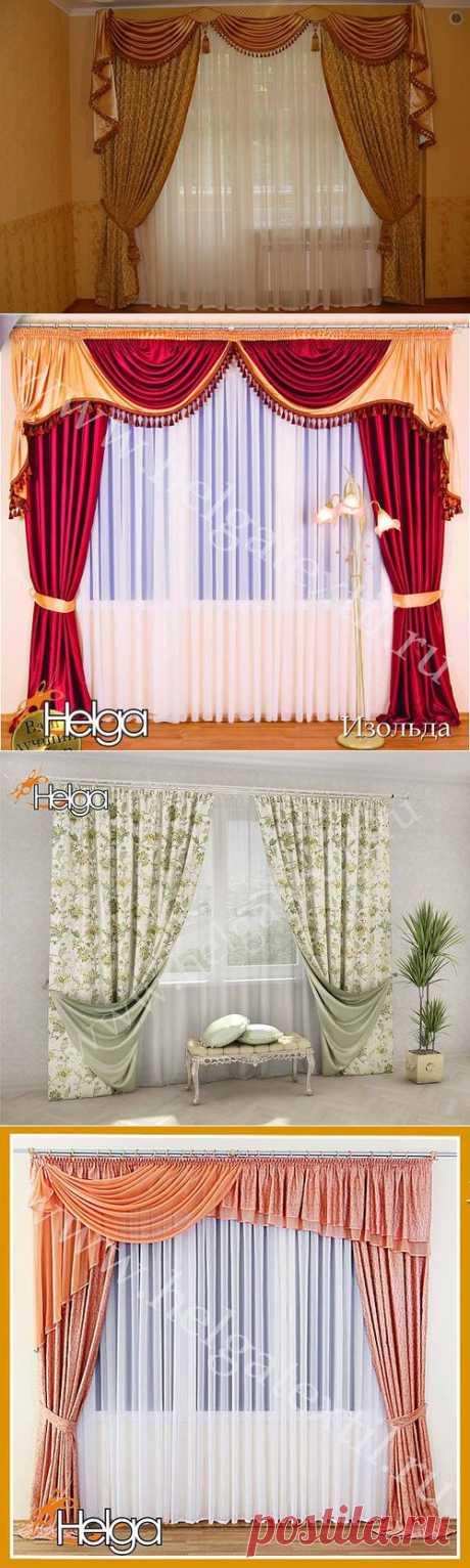 Портьеры, шторы, идеи.