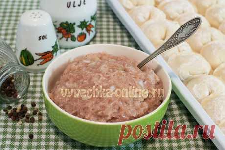 ✔️Домашний фарш для пельменей из свинины сочный и вкусный - рецепт с фото пошагово