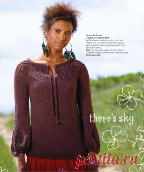 Пуловер Ileana.