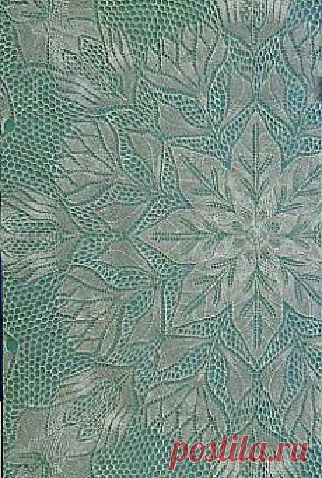 Knitted lace designs of the modern mode (Вязаные кружева спицами в современном исполнении ).