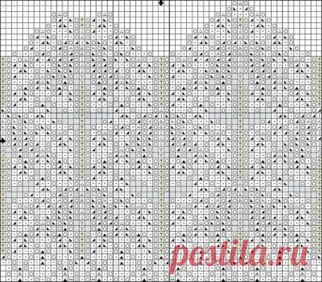 Шикарное платье пестрые облака вязаное спицами. Нарядное белое платье спицами со схемами | Домоводство для всей семьи.