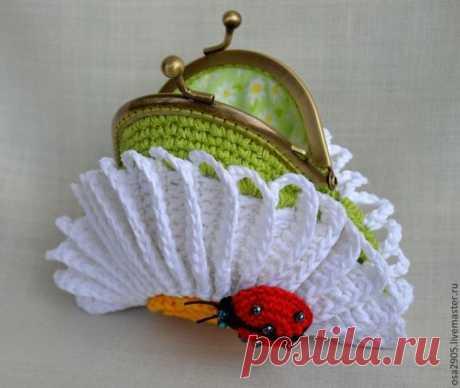 Comprar MK el portamonedas la manzanilla purse - multicolor, el gancho, la Labor de punto por el gancho, el juguete tejido