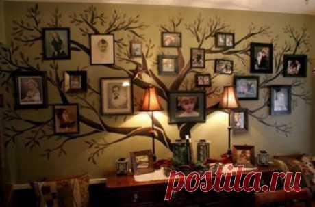 как вам такое генеалогическое дерево?