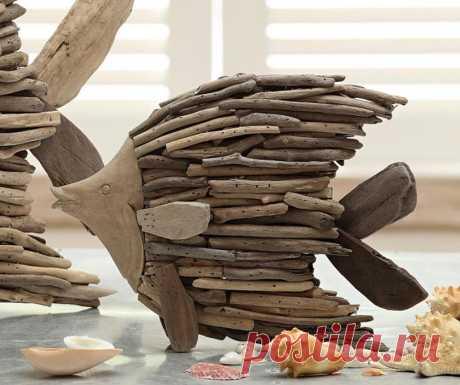 large-driftwood-hand-made-angel-fish-home-decor-129524.jpg (1000×836)