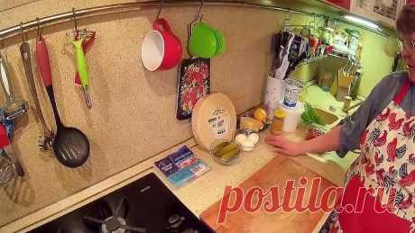 Торт - Салат с Крабовыми Палочками на Праздничный Стол.
