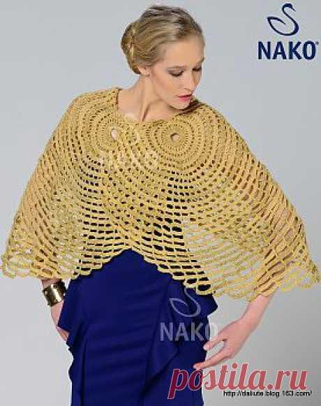 """Шаль """"Nako Spring Shawl """".."""