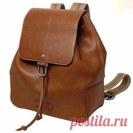 @ Кожаный рюкзак своими руками | МОЙ МИЛЫЙ ДОМ – идеи рукоделия, вязание, декорирование интерьеров