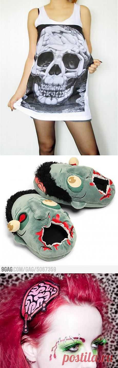 In your head Zombie / Аксессуары (не украшения) / Модный сайт о стильной переделке одежды и интерьера