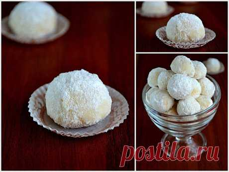Печенье белые рассыпчатые «Трюфели»