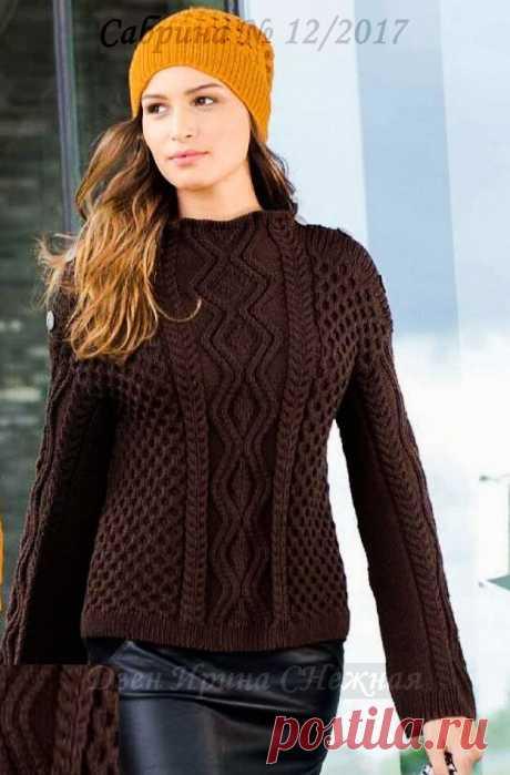 Стильные и простые, теплые и модные - 11 моделей спицами для вас. Пальто, жакеты и пуловеры на осенний сезон. Одеваемся красиво.   Ирина СНежная & Вязание   Яндекс Дзен