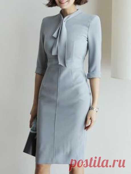Элегантные платья с изысканным кроем: 17 идей для пошива | Новости моды