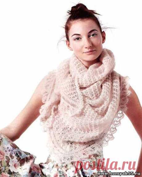 Схемы вязания шарфа спицами » Страница 2