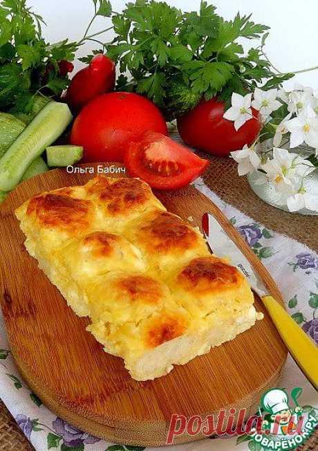 """Пирог """"Три сыра"""" - кулинарный рецепт"""