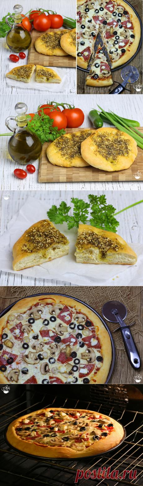 Универсальное дрожжевое тесто.Фокачча и пицца.