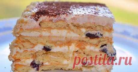 Бесподобный торт без выпечки с печеньем. Эта начинка вскружит тебе голову! Бесподобный торт без выпечки с печеньем. Эта начинка вскружит тебе голову!