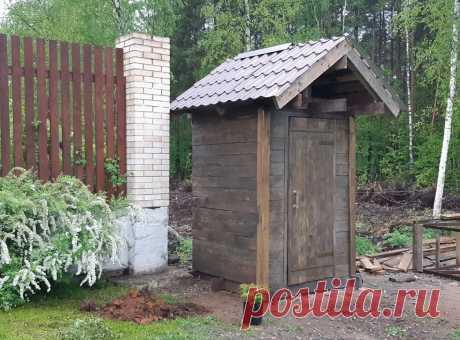 Сколько стоит построить дачную уборную своими руками   УСАДЬБУШКА   Пульс Mail.ru Сделай сам
