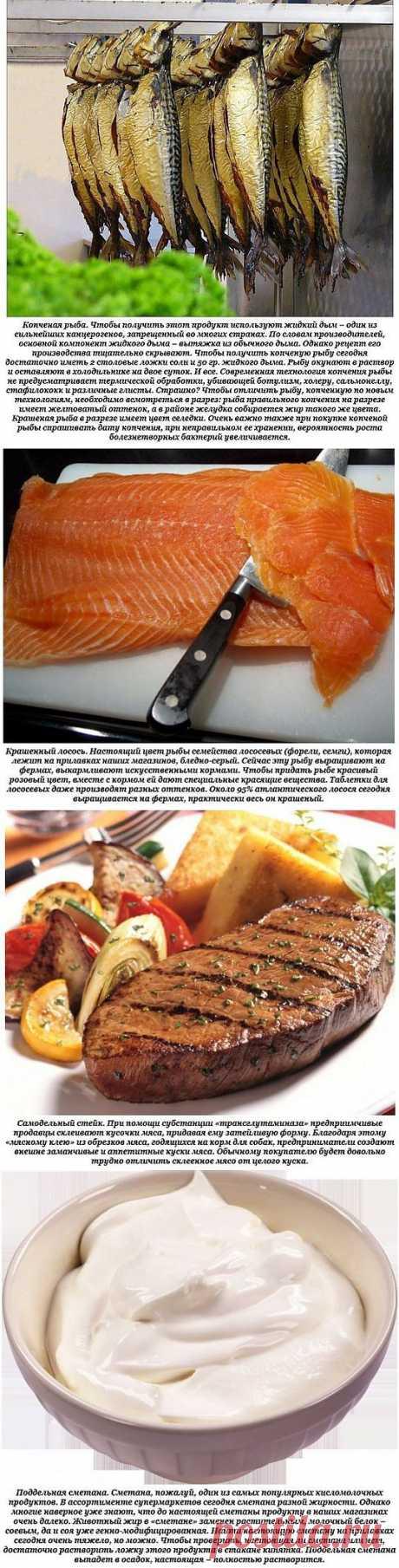 Как подделывают популярные продукты питания.