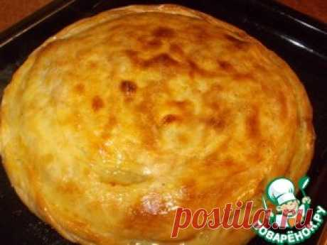 The Lezghin potatoes and Tskan meat pie - the culinary recipe