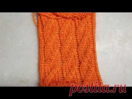 Knitting design in knitting machine #27 (निटिंग मशीन में स्वेटर डिजाइन #27)