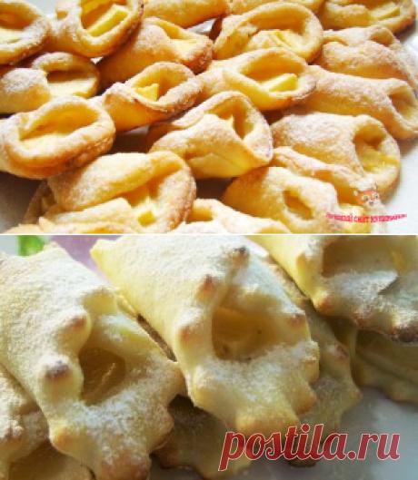 """Творожные """"пальчики"""" с яблоками - сайт кулинарии"""