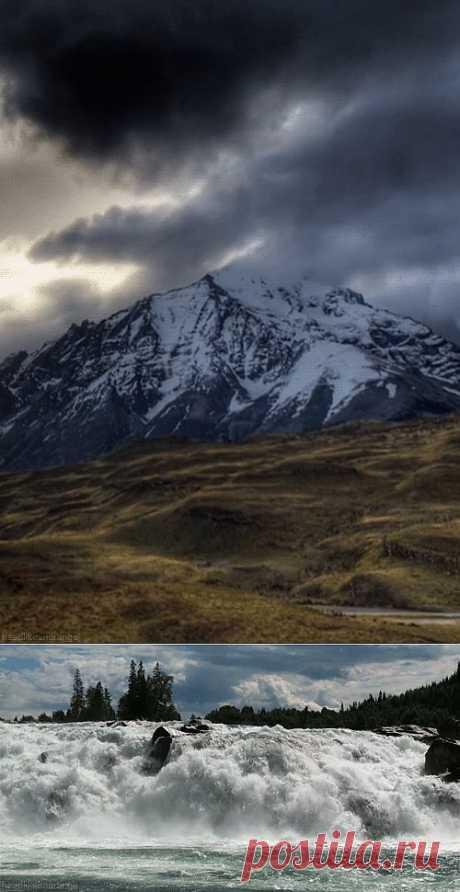 Завораживающие живые картинки на основе видеозарисовок о природе!.