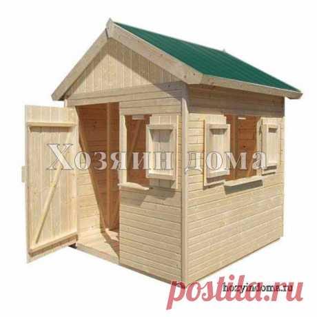 Простой деревянный хозблок 2х2 метра. Наружные стены вагонка, каркас брусок 45х45мм. Привозим щитами, при сборке стен в углах получается брусок 45х90мм.