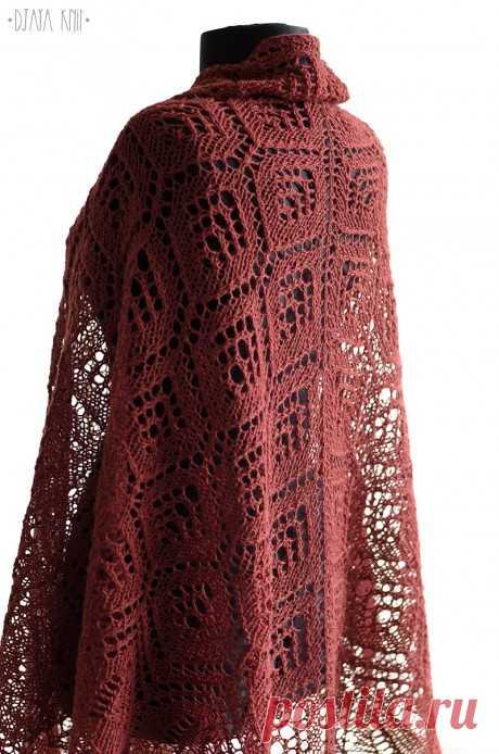 Вязанная спицами шаль, Вязание для женщин