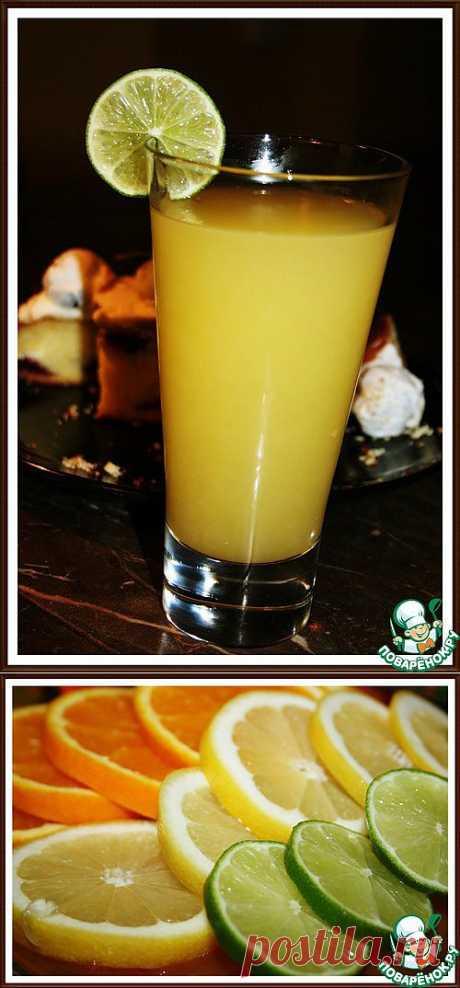 Лимонад от Алины - кулинарный рецепт