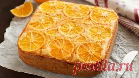 Апельсиновый пирог: десерт, который у всех получается идеально. Что самое лучшее в пирогах-перевертышах, так это то, что они не нуждаются в дополнительном украшении. Достаточно уложить фрукты на дно, залить их тестом и