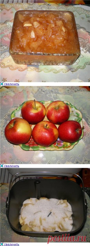 Panasonic SD-2501. Яблочное варенье. - ХЛЕБОПЕЧКА.РУ - рецепты, отзывы, инструкции, обзоры