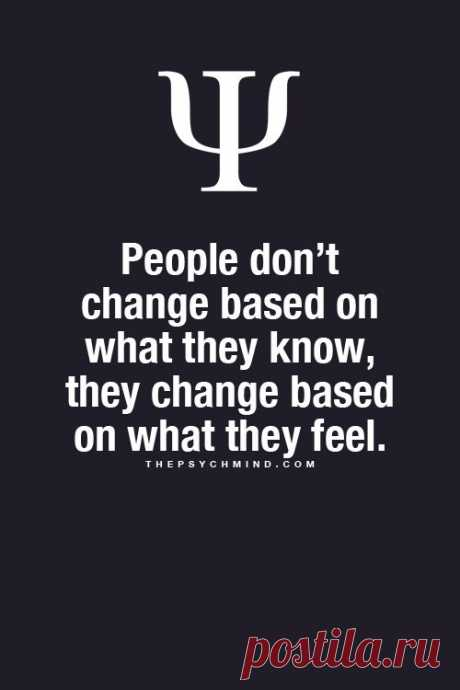 People don't change...
