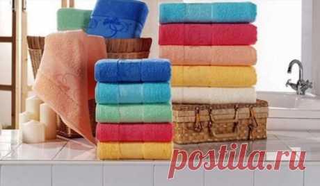 Как сделать старые махровые полотенца снова мягкими и нежными | Краше Всех