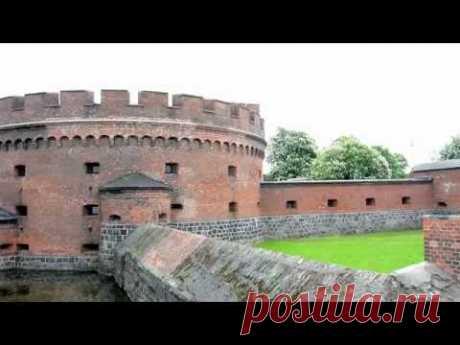 Калининград, прогулка по городу - YouTube
