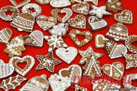 Праздничные рецепты. Пряники и печенье на рождество. Рецепт рождественского печенья. Пряничный домик. Елочные игрушки своими руками.