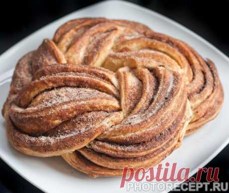 Крендель эстонский с корицей и сахаром - рецепт с фото пошагово
