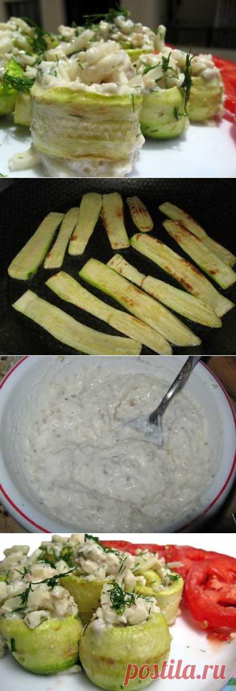кабачки с сыром и грецкими орехами - Простые рецепты Овкусе.ру