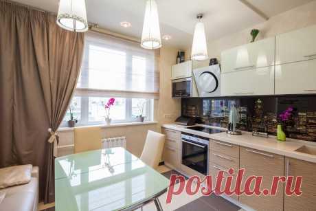 Дизайн кухни 10 метров - квадратная: реальные фото Современная планировка кухни 10 кв. м.: стиль интерьера, цветовое оформление, расположение мебели, фото.