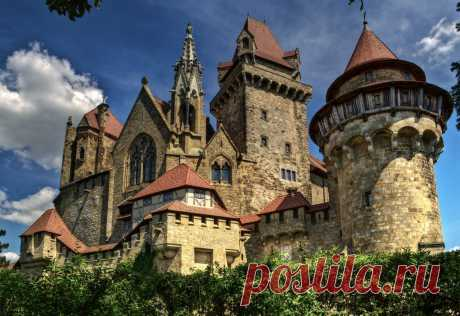 Замки Австрии: Кройценштайн (Burg Kreuzenstein)