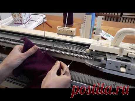Изготовление рюши Сборка изделия на машине