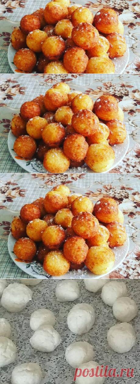 Абрикоски (творожные шарики) Автор рецепта Екатерина Иванова - Cookpad