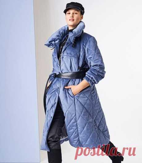 Пуловер из цветочных ромбов - схема вязания крючком.