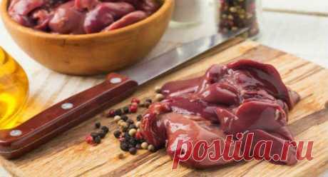 Как приготовить куриную печень на сковороде 🚩 Продукты питанияя