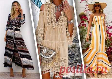 Элегантная женственность: подборка образов с летними платьями | INFO💗STYLE | Яндекс Дзен