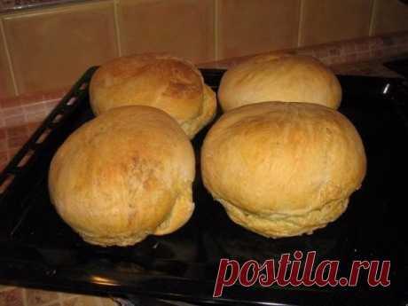 Как приготовить домашний хлеб в духовке - рецепт, ингредиенты и фотографии
