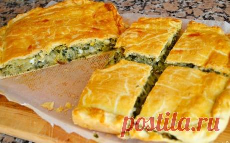 Пирог с капустой на быструю руку рецепт